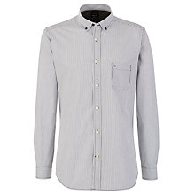 Buy Diesel Srloin-R Shirt, Grey Online at johnlewis.com