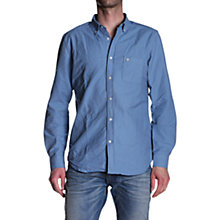 Buy Diesel Shank-R Shirt, Blue Online at johnlewis.com