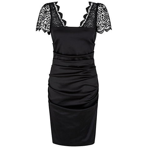Buy Damsel in a dress Valentino Dress, Black Online at johnlewis.com