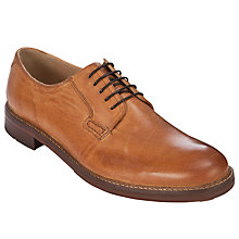 Buy Ben Sherman Qewy Postman Derby Shoes, Tan Online at johnlewis.com