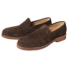 Buy Ben Sherman Jeex Suede Loafer Shoes Online at johnlewis.com