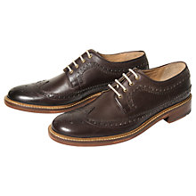 Buy Ben Sherman Ubow Longwing Brogue Derby Shoes Online at johnlewis.com