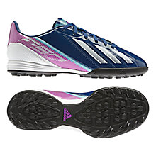 Buy Adidas F10 TRX TF Football Boots, Dark Blue Online at johnlewis.com