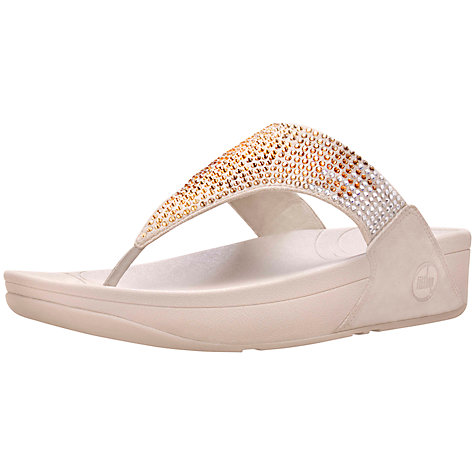 Buy FitFlop Flare Flatform Embellished Sandals Online at johnlewis.com