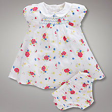Buy John Lewis Vintage Flower Dress Online at johnlewis.com