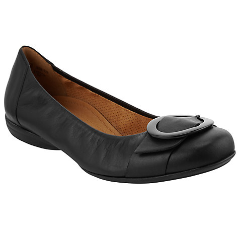 Buy Gabor Dandelion Leather Buckle Trim Pumps Online at johnlewis.com