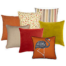 Buy Burnt Orange and Citrus Cushion Collection  Online at johnlewis.com