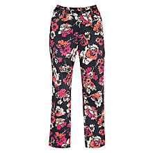 Buy Gerry Weber Floral Trousers, Multi Online at johnlewis.com