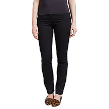 Buy Gerry Weber Roxy Perfect Slim Leg Regular Length Jeans, Black Online at johnlewis.com