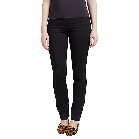 Buy Gerry Weber Roxy Perfect Slim Leg Jeans, Regular Length, Black Online at johnlewis.com