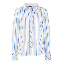 Buy Gerry Weber Striped Shirt, Blue Online at johnlewis.com