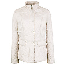 Buy Gerry Weber Basic Padded Quilted Jacket, Stone Online at johnlewis.com