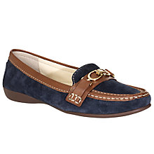 Buy John Lewis Cologne Contrast Trim Suede Loafers Online at johnlewis.com