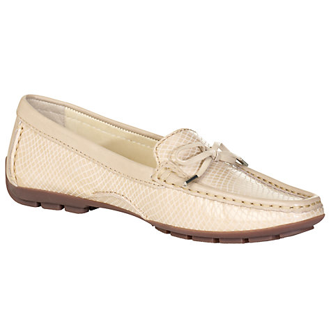 Buy John Lewis Geneva Snakeskin Print Leather Loafers Online at johnlewis.com