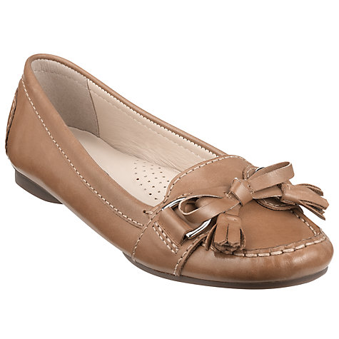 Buy John Lewis Prague Leather Fringed Tassel Moccasins Online at johnlewis.com