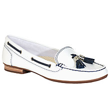 Buy John Lewis Zurich Contrast Tassel Leather Loafers Online at johnlewis.com