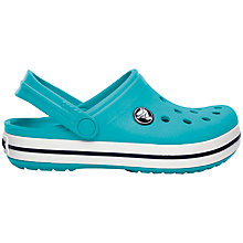 Buy Crocs Kids' Band Sandals, Blue Online at johnlewis.com