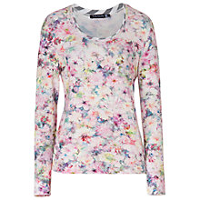 Buy Betty Barclay Vari Floral T-Shirt, Multi Online at johnlewis.com