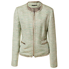 Buy Betty Barclay Tweed Jacket, Green Online at johnlewis.com