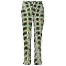 Buy Betty Barclay Circle Print Trousers, Green/Taupe Online at johnlewis.com