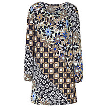 Buy Betty Barclay Flower Print Tunic Dress, Multi Online at johnlewis.com