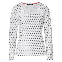 Buy Betty Barclay Spot T-Shirt, Cream/Silver Online at johnlewis.com