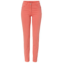 Buy Betty Barclay Sally Slim Fit Jeans, Shell Pink Online at johnlewis.com
