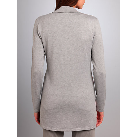 Buy Betty Barclay Flower Spot Cardigan, Grey/Cream Online at johnlewis.com