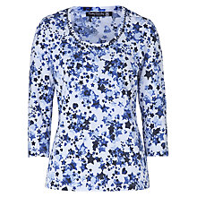 Buy Betty Barclay Star Print Top, White/Blue Online at johnlewis.com