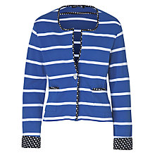 Buy Betty Barclay Star Jacket, Blue/White Online at johnlewis.com