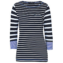 Buy Betty Barclay Boat Neck Top, Dark Blue Online at johnlewis.com