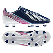 Buy Adidas F10 TRX FG Football Boots, Dark Blue Online at johnlewis.com