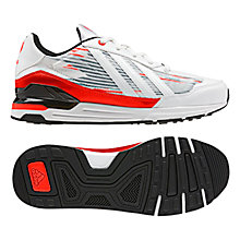 Buy Adidas Messi Running Trainers, Red/White Online at johnlewis.com
