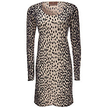 Buy Fenn Wright Manson Halire 3/4 Sleeve Tunic Dress, Black/Camel Online at johnlewis.com