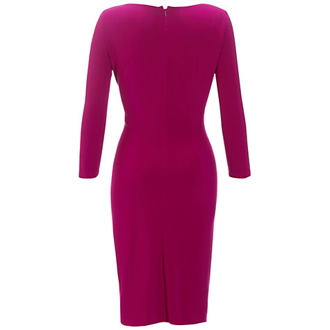 Buy Adrianna Papell Asymmetric Ruched Dress Online at johnlewis.com