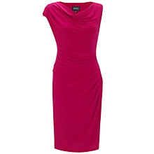 Buy Adrianna Papell Draped Dress, Wildberry Online at johnlewis.com