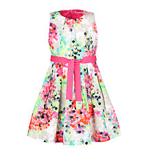 Buy NONO Flower Dotted Dress, Pink/Multi Online at johnlewis.com