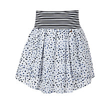 Buy NONO Spotted Full Skirt, Navy/White Online at johnlewis.com