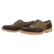 Buy Barbour Bavian Leather Brogue Shoes Online at johnlewis.com