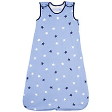 Buy John Lewis Baby Stars Sleeping Bag, 2.5 Tog, Blue Online at johnlewis.com