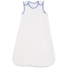 Buy John Lewis Baby Star Sleeping Bag, 2.5 Tog, Blue Online at johnlewis.com
