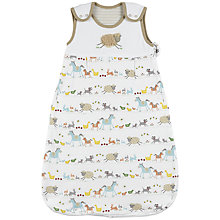Buy John Lewis Baby Farmyard Sleeping Bag, 1 Tog, Multi Online at johnlewis.com
