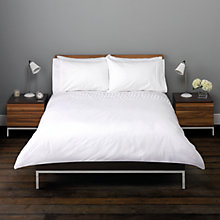 Buy John Lewis Pia Pleats Duvet Cover Set Online at johnlewis.com