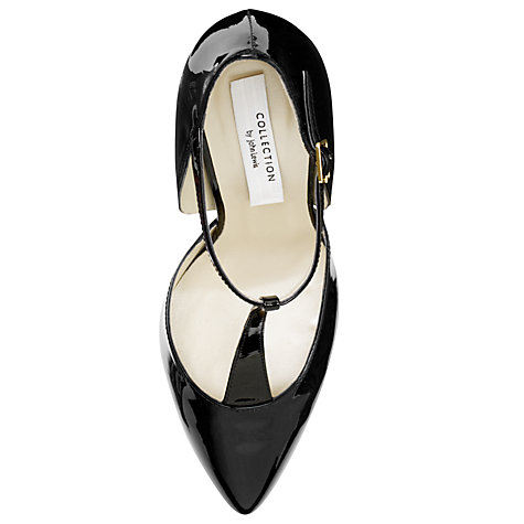 Buy COLLECTION by John Lewis Saldana Patent Leather T-Bar Court Shoes Online at johnlewis.com