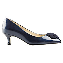 Buy Van Dal Elvenden Leather Lizard Kitten Heel Court Shoes Online at johnlewis.com
