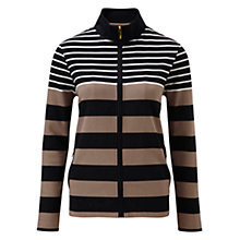 Buy Viyella Stripe Zip Front Jacket, Multi Online at johnlewis.com