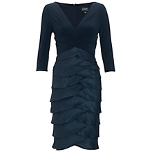 Buy Adrianna Papell Shimmer Dress, Eclipse Online at johnlewis.com