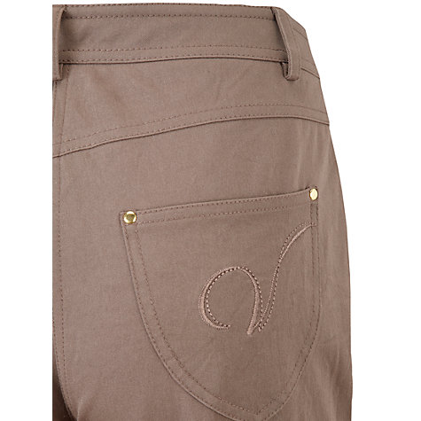 "Buy Viyella Petite Smart Jeans, L28"", Mushroom Online at johnlewis.com"