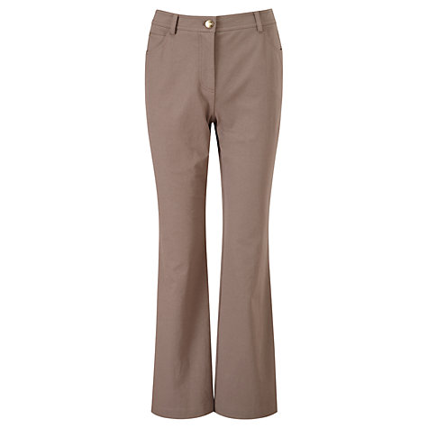 "Buy Viyella Smart Jeans, L32"", Mushroom Online at johnlewis.com"