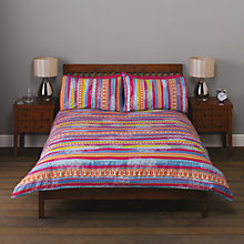Buy John Lewis Bright Stripe Duvet Cover Set Online at johnlewis.com